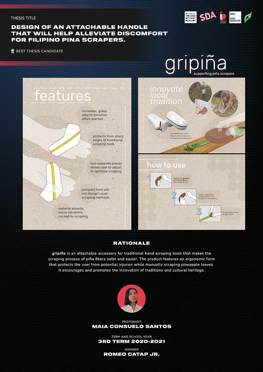 GRIPINA by Maia Consuelo Santos